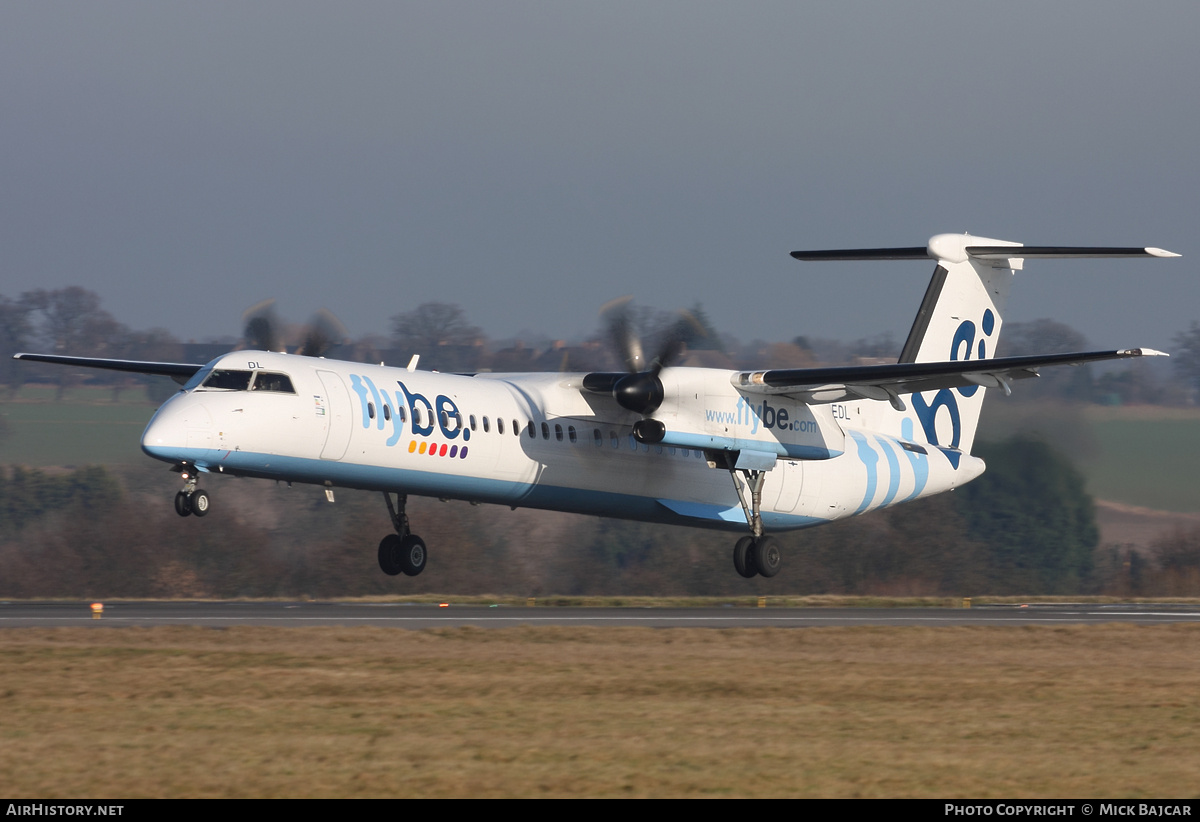 Aircraft Photo of G-JEDL | Bombardier DHC-8-402 | Flybe | AirHistory.net #1818