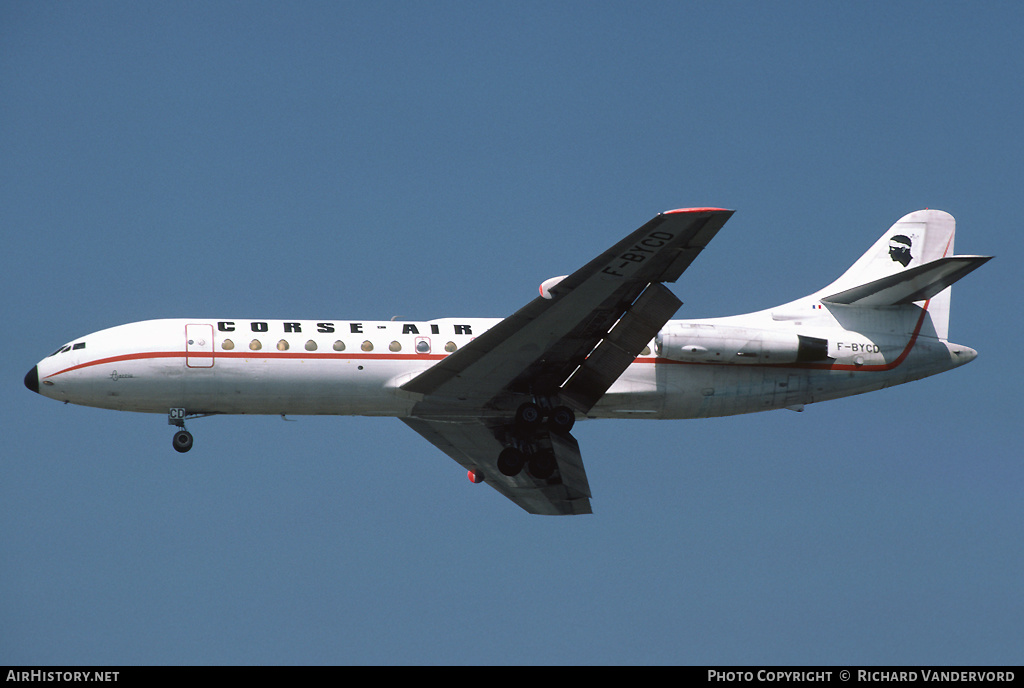 Aircraft Photo of F-BYCD | Sud SE-210 Caravelle VI-N | Corse Air International | AirHistory.net