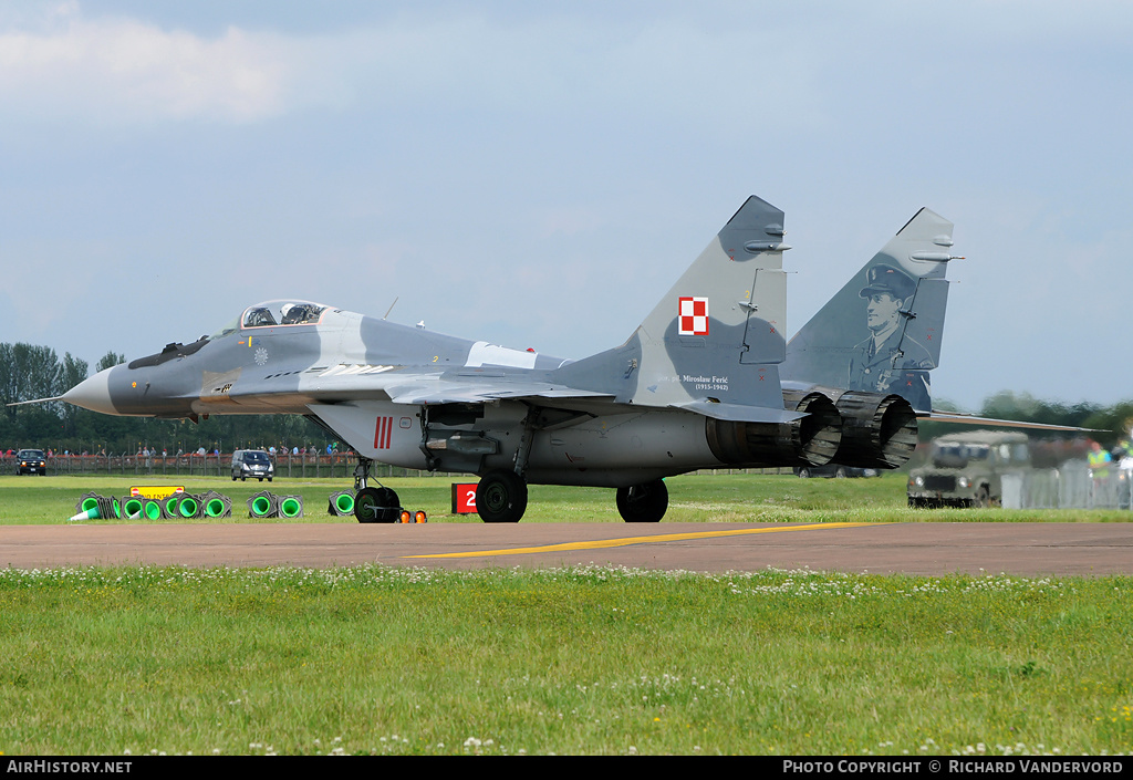 Aircraft Photo of 111 | Mikoyan-Gurevich MiG-29A (9-12A) | Poland - Air Force | AirHistory.net
