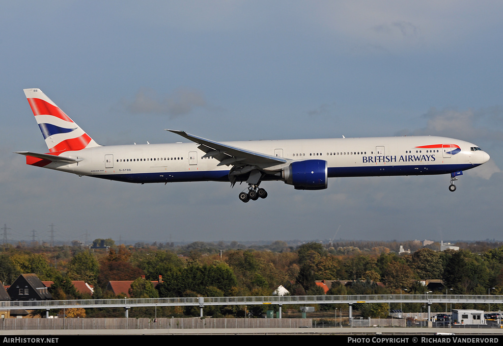 Aircraft Photo of G-STBB | Boeing 777-36N/ER | British Airways | AirHistory.net