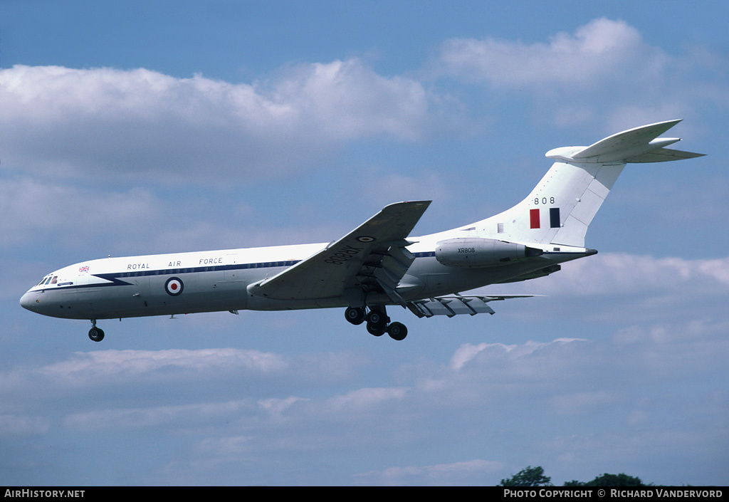 Aircraft Photo of XR808 | Vickers VC10 C.1 | UK - Air Force | AirHistory.net