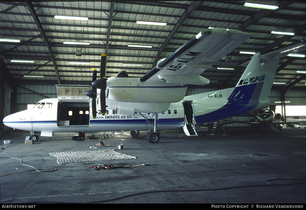 Aircraft Photo of A6-ALM | De Havilland Canada DHC-7-103 Dash 7 | Emirates Air Services - EAS | AirHistory.net #2166