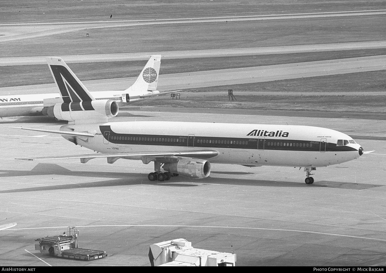 Aircraft Photo of I-DYNU | McDonnell Douglas DC-10-30 | Alitalia | AirHistory.net