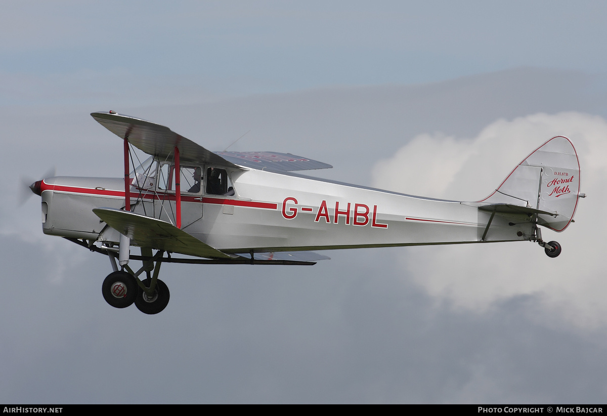 Aircraft Photo of G-AHBL | De Havilland DH.87B Hornet Moth | AirHistory.net