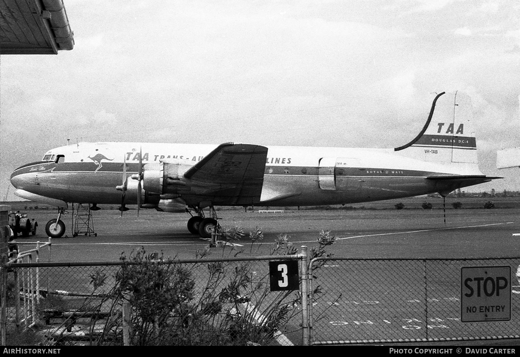 Aircraft Photo of VH-TAB | Douglas DC-4-1009 | Trans-Australia Airlines - TAA | AirHistory.net #2278