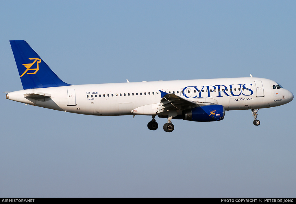 Aircraft Photo of 5B-DAW | Airbus A320-231 | Cyprus Airways | AirHistory.net #2308