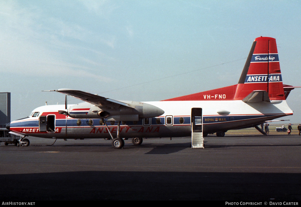 Aircraft Photo of VH-FNO | Fokker F27-400 Friendship | Ansett - ANA | AirHistory.net