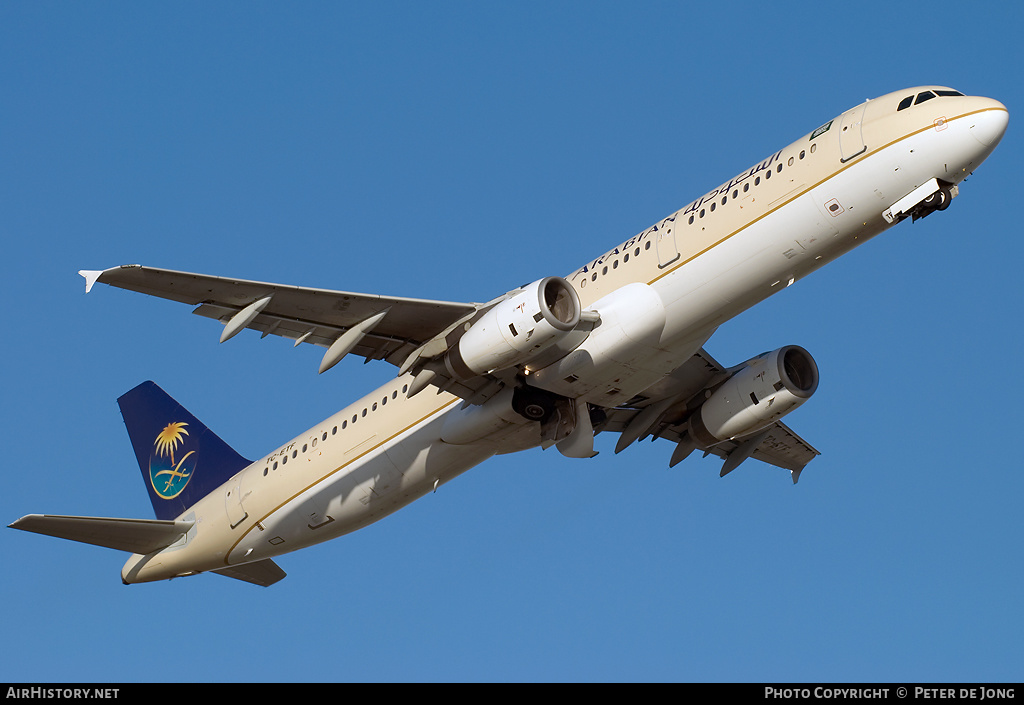 Aircraft Photo of TC-ETF | Airbus A321-231 | Saudi Arabian Airlines | AirHistory.net