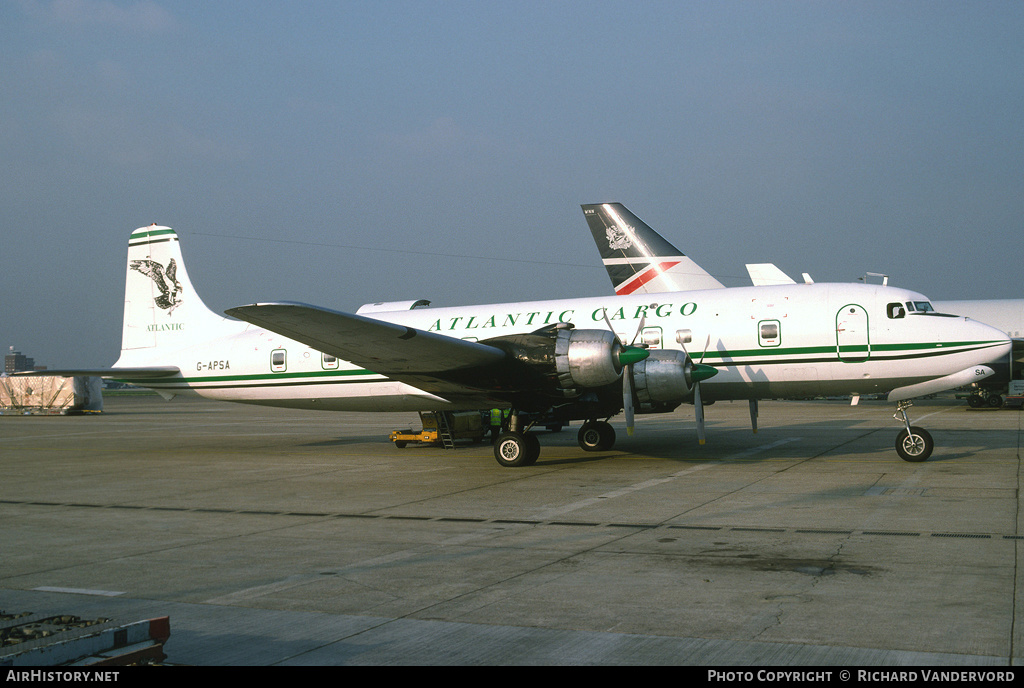 Aircraft Photo of G-APSA | Douglas DC-6A(C) | Atlantic Cargo | AirHistory.net