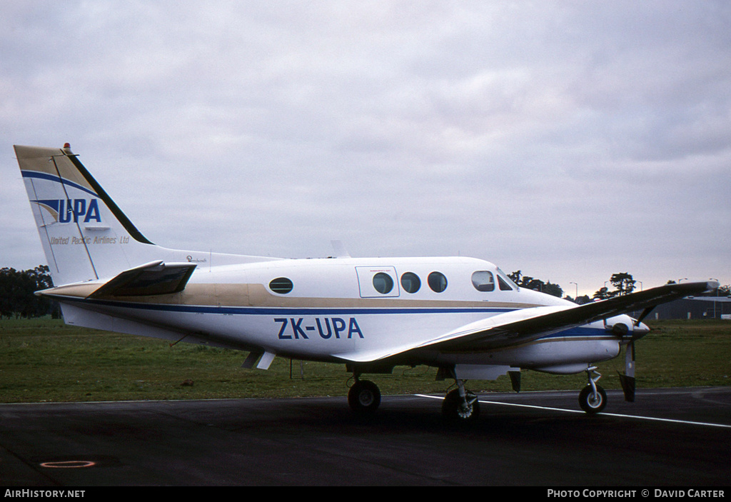 Aircraft Photo of ZK-UPA | Beech C90 King Air | United Pacific Airlines | AirHistory.net