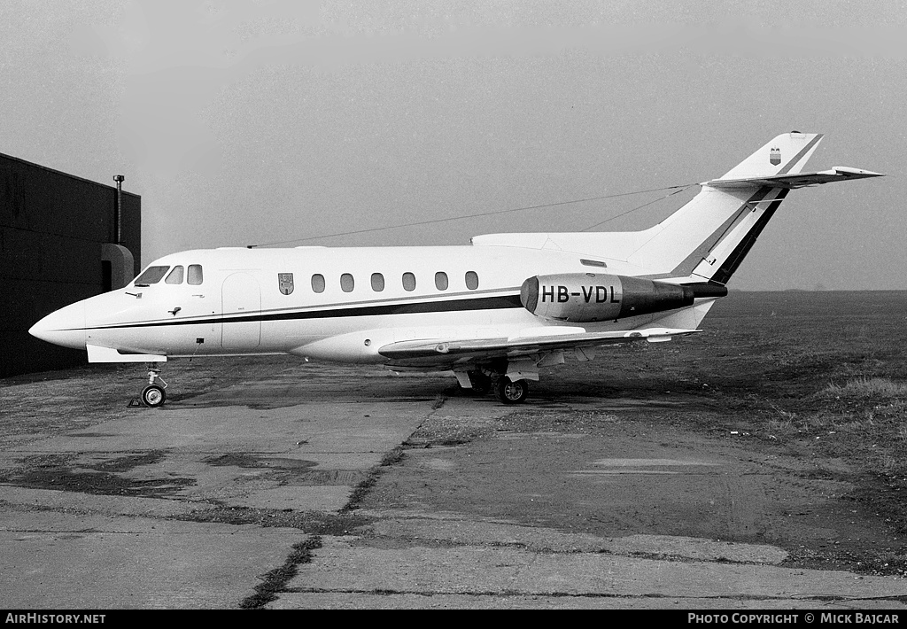 Aircraft Photo of HB-VDL | Hawker Siddeley HS-125-600B | AirHistory.net #2530