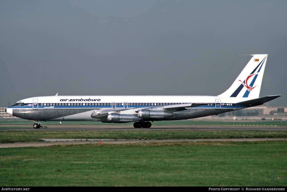Aircraft Photo of VP-WKR | Boeing 707-330B | Air Zimbabwe | AirHistory.net #2600