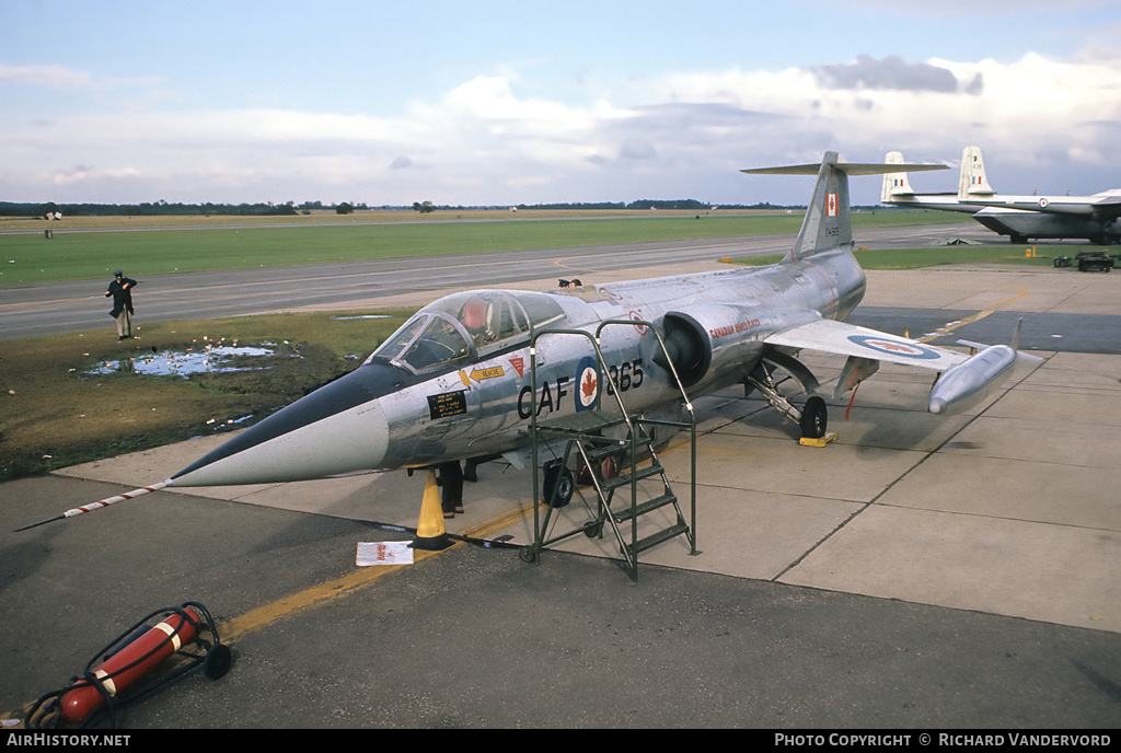 Aircraft Photo of 104865 | Lockheed CF-104 Starfighter | Canada - Air Force | AirHistory.net #2671