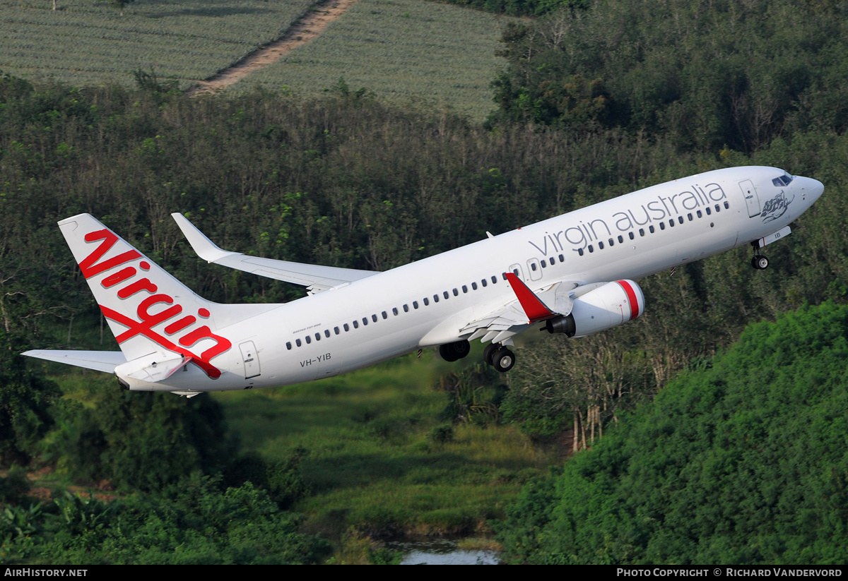 Aircraft Photo of VH-YIB | Boeing 737-8FE | Virgin Australia Airlines | AirHistory.net #2727
