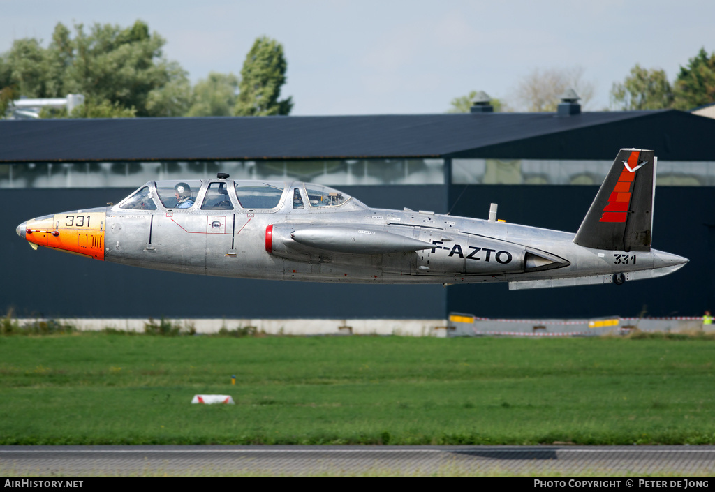 Aircraft Photo of F-AZTO / 331 | Fouga CM-170R Magister | AirHistory.net #2885