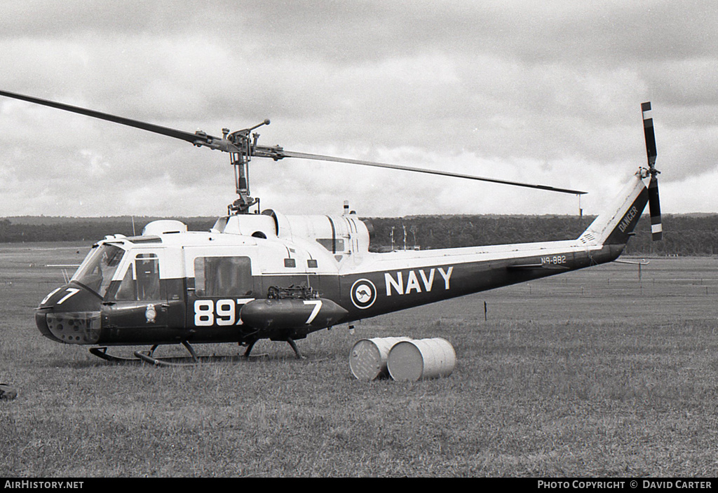 Aircraft Photo of N9-882 | Bell UH-1B Iroquois (204) | Australia - Navy | AirHistory.net