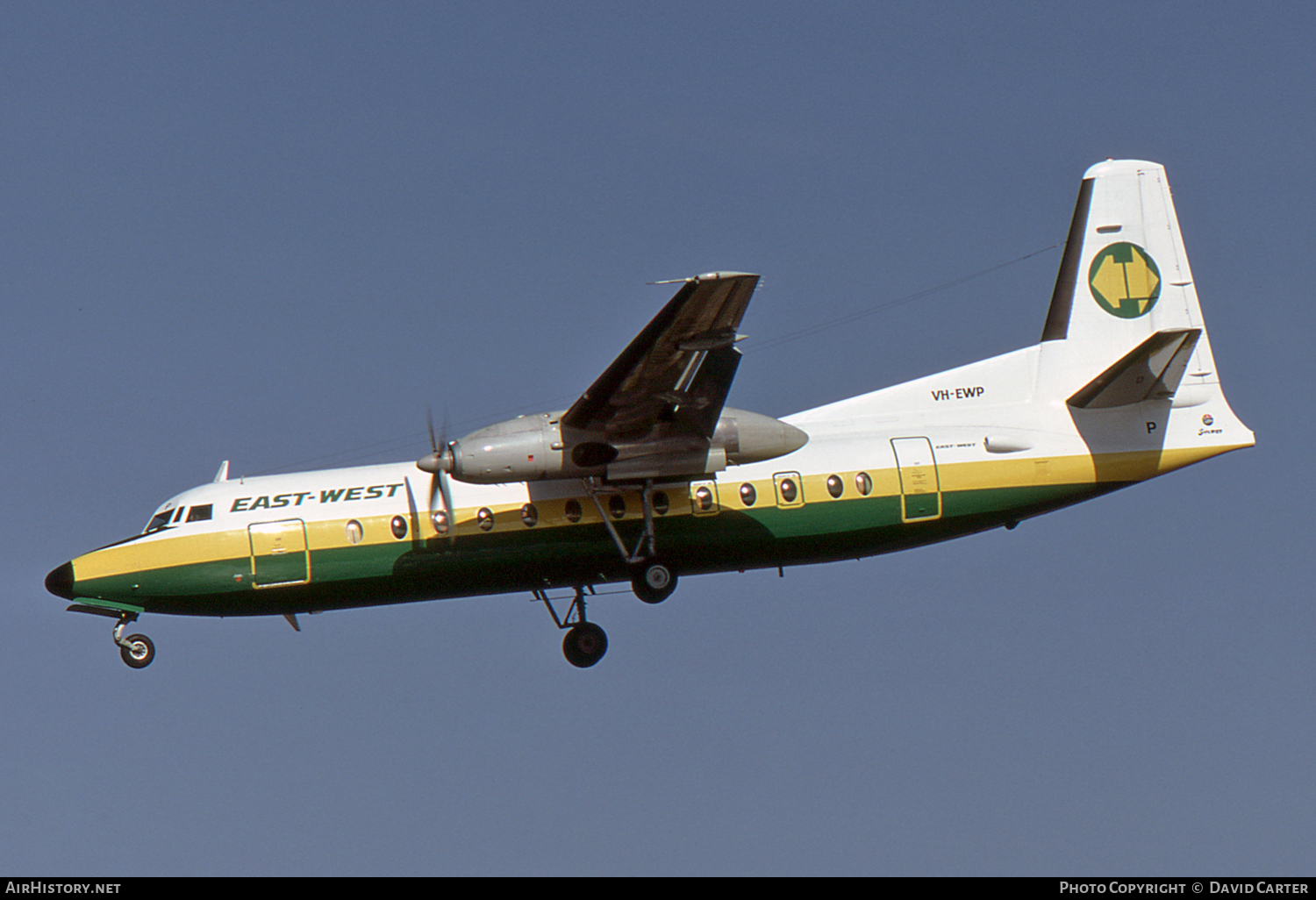 Aircraft Photo of VH-EWP | Fokker F27-500 Friendship | East-West Airlines | AirHistory.net #2937