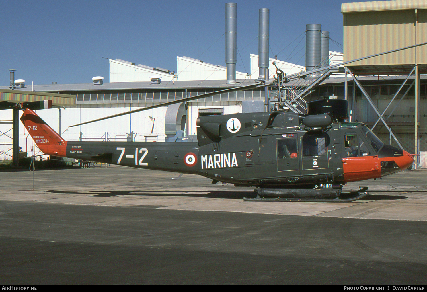 Aircraft Photo of MM80944 | Agusta AB-212ASW | Italy - Navy | AirHistory.net #2951