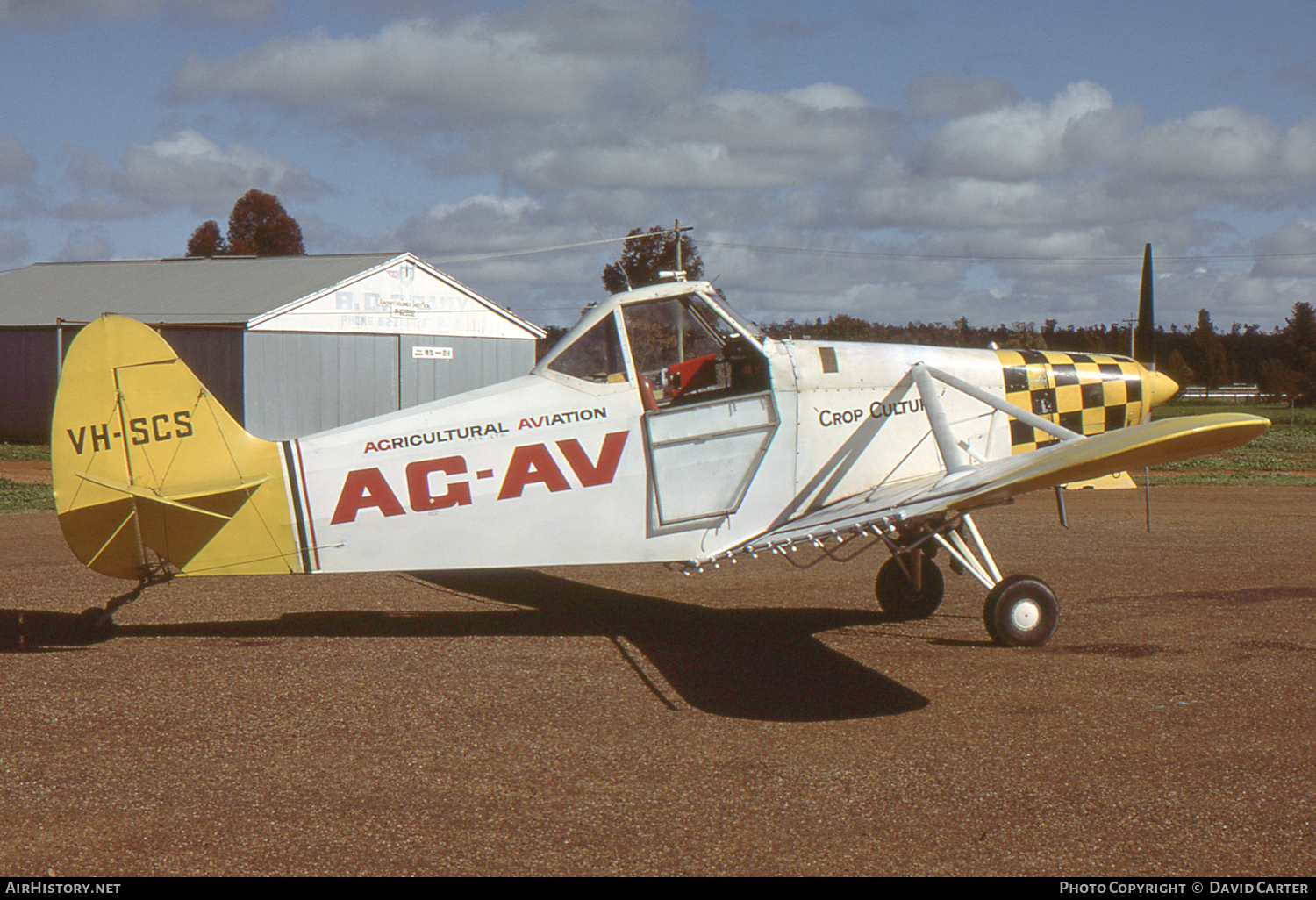 Aircraft Photo of VH-SCS | Piper PA-25-150 Pawnee | Ag-Av - Agricultural Aviation | AirHistory.net #2955