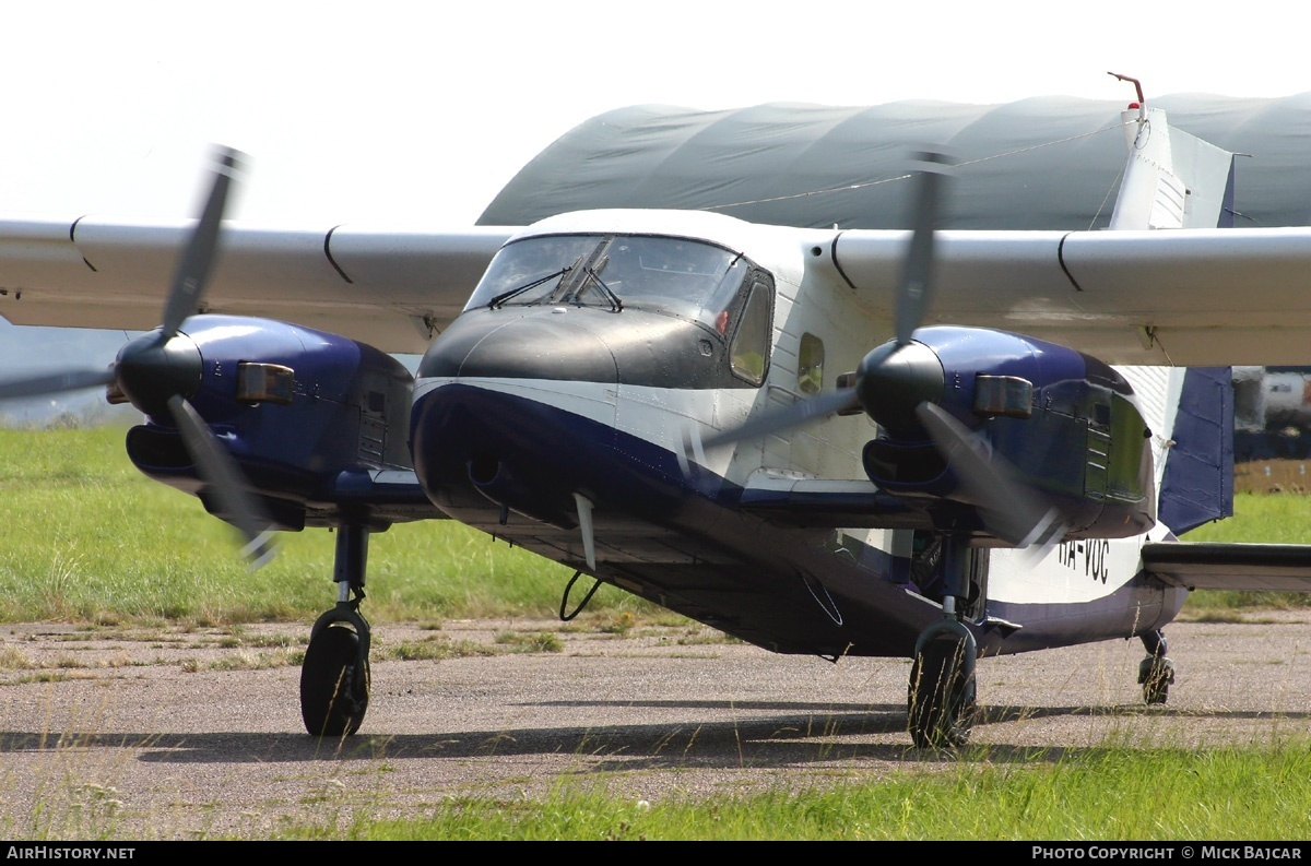 Aircraft Photo of HA-VOC | Dornier Do-28 G.92 Skyservant | AirHistory.net #2960