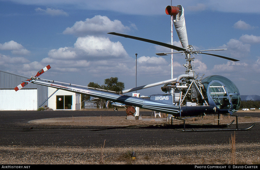 Aircraft Photo of VH-AGL | Hiller HT2 (UH-12E) | McIver Aviation | AirHistory.net #2984