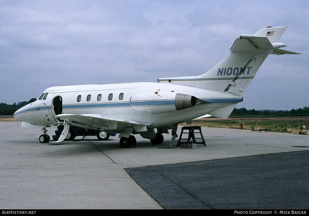 Aircraft Photo of N100MT | Hawker Siddeley HS-125-1A | AirHistory.net