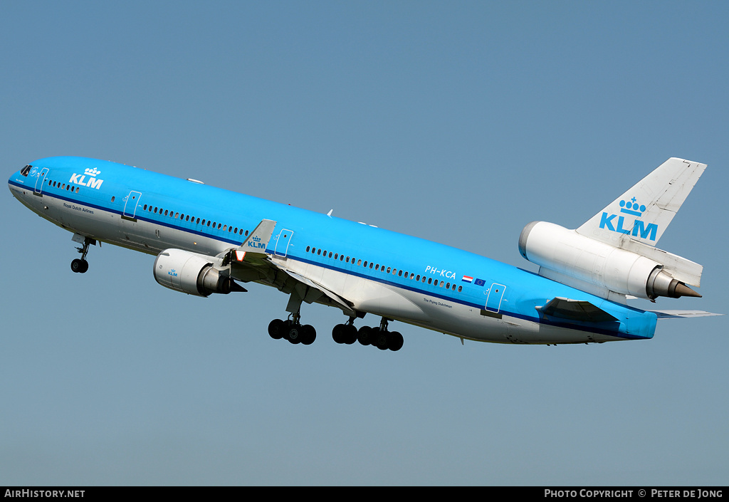 Aircraft Photo of PH-KCA | McDonnell Douglas MD-11 | KLM - Royal Dutch Airlines | AirHistory.net #3044