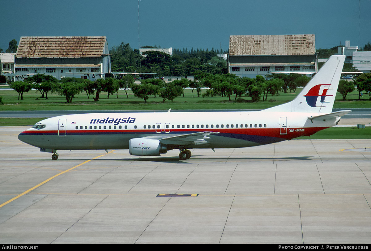 Aircraft Photo of 9M-MMF | Boeing 737-4H6 | Malaysia Airlines | AirHistory.net #3139