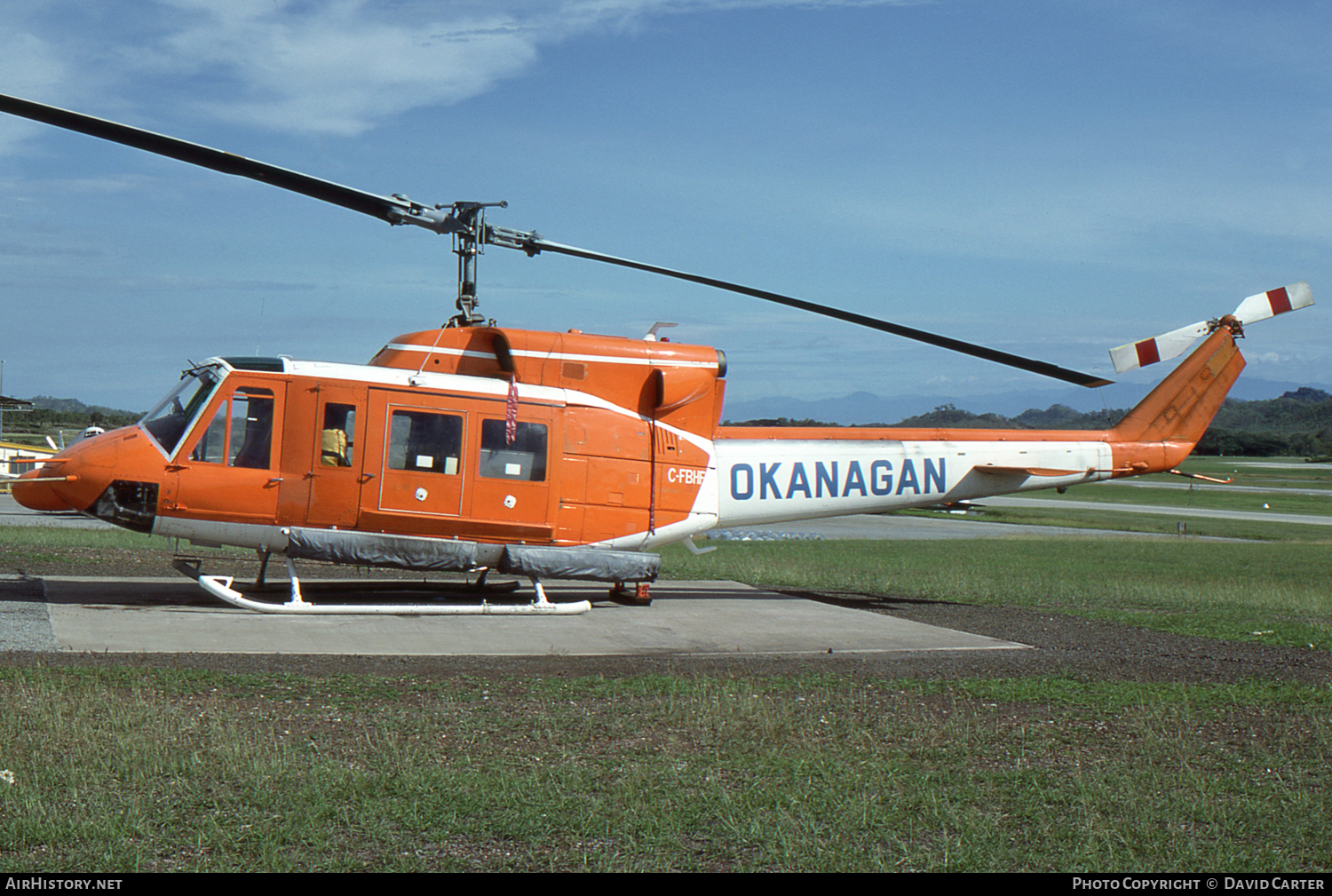 Aircraft Photo of C-FBHF | Bell 212 Twin Two-Twelve | Okanagan Helicopters | AirHistory.net #3278