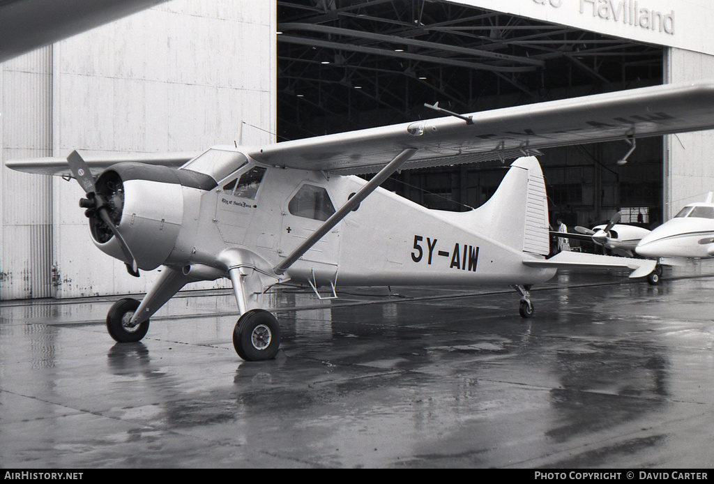 Aircraft Photo of 5Y-AIW | De Havilland Canada DHC-2 Beaver Mk1 | AirHistory.net #3280