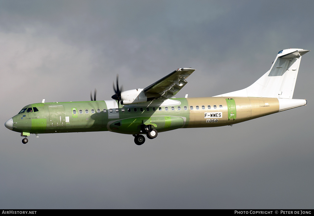 Aircraft Photo of F-WWES | ATR ATR-72-600 (ATR-72-212A) | AirHistory.net #3294