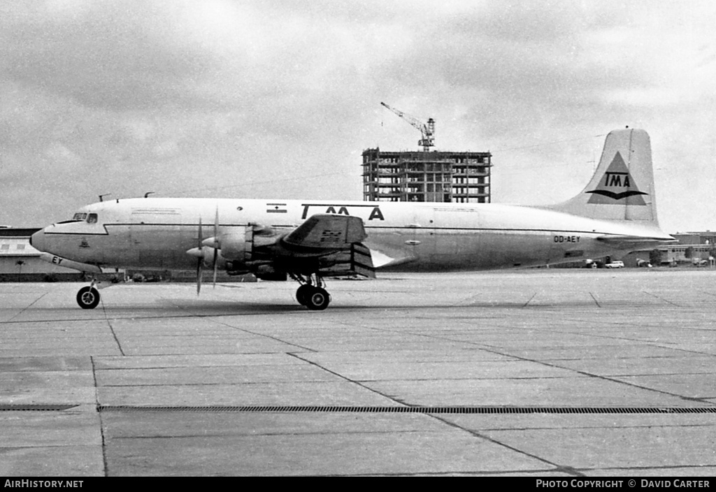 Aircraft Photo of OD-AEY | Douglas DC-6B(F) | TMA of Lebanon - Trans Mediterranean Airways | AirHistory.net #3329