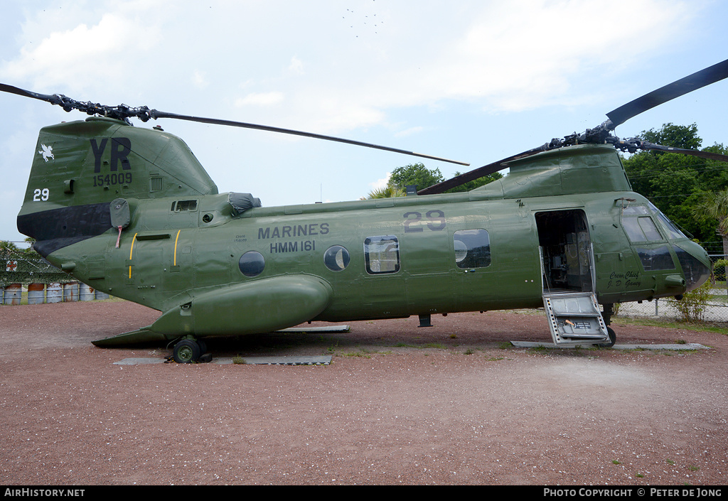 Aircraft Photo of 154009 | Boeing Vertol CH-46E Sea Knight | USA - Marines | AirHistory.net #3497