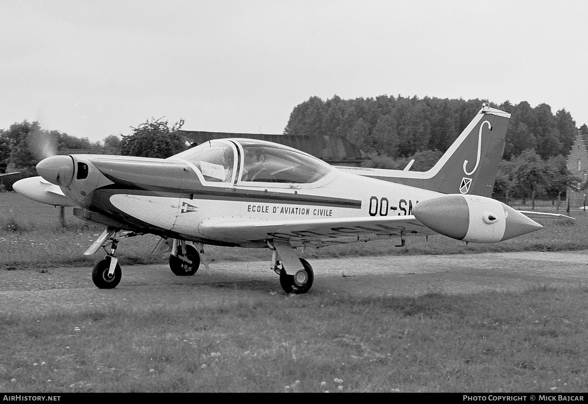 Aircraft Photo of OO-SMJ | SIAI-Marchetti SF-260... | EAC - Ecole d'Aviation Civile | AirHistory.net