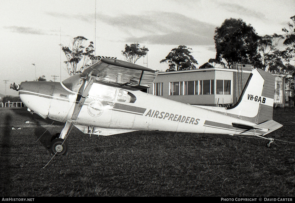Aircraft Photo of VH-GAB | Cessna 180A | Airspreaders | AirHistory.net #3807