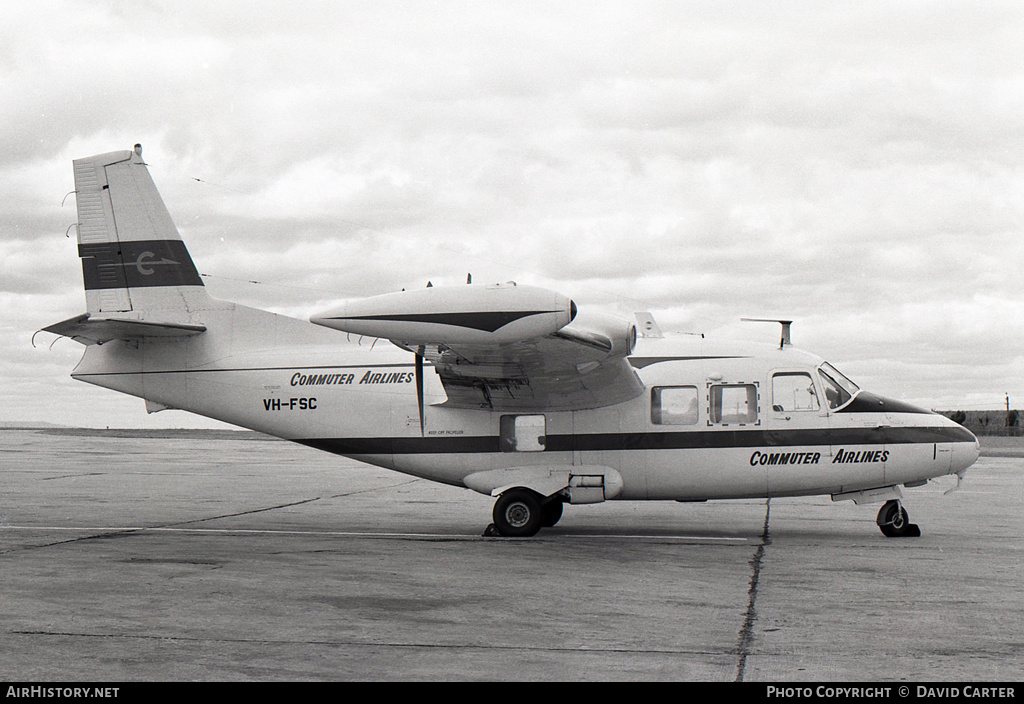 Aircraft Photo of VH-FSC | Piaggio P-166C | Commuter Airlines | AirHistory.net #3874