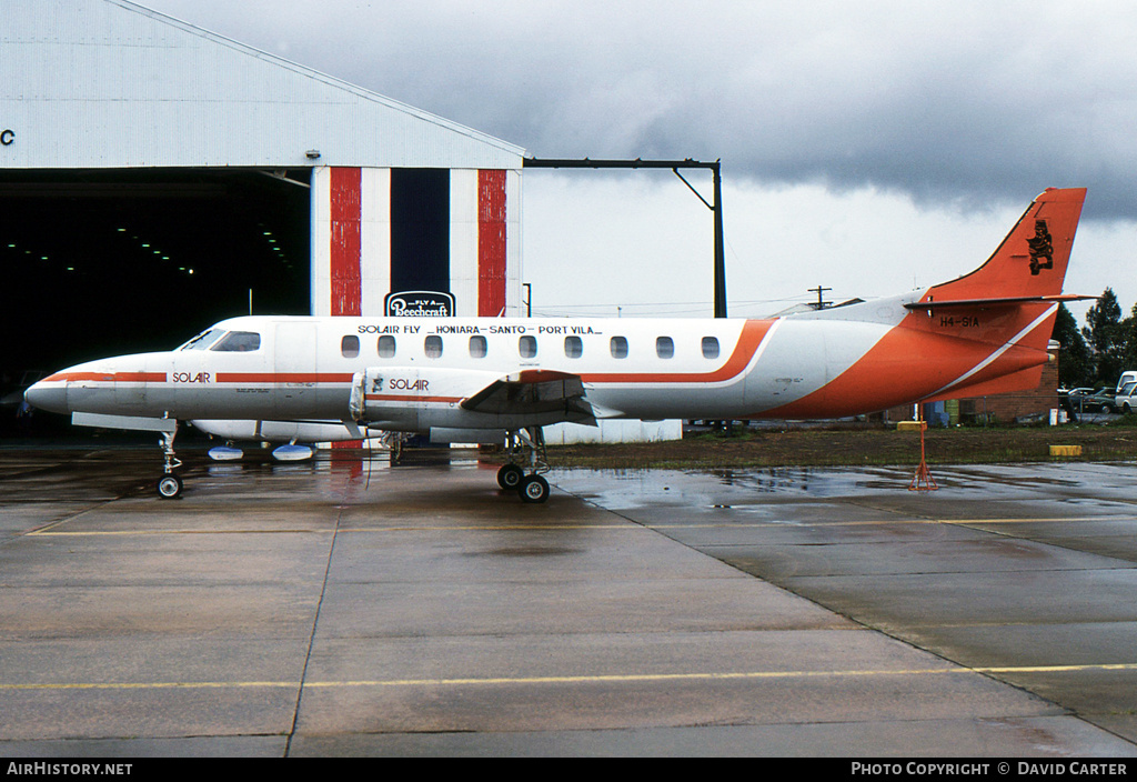 Aircraft Photo of H4-SIA | Swearingen SA-226TC Metro II | Solair - Solomon Islands Airways | AirHistory.net