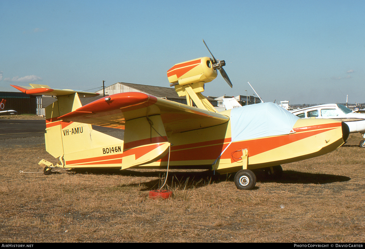 Aircraft Photo of VH-AMU | Thurston TSC-1A2 Teal (Schweizer) | AirHistory.net #3924