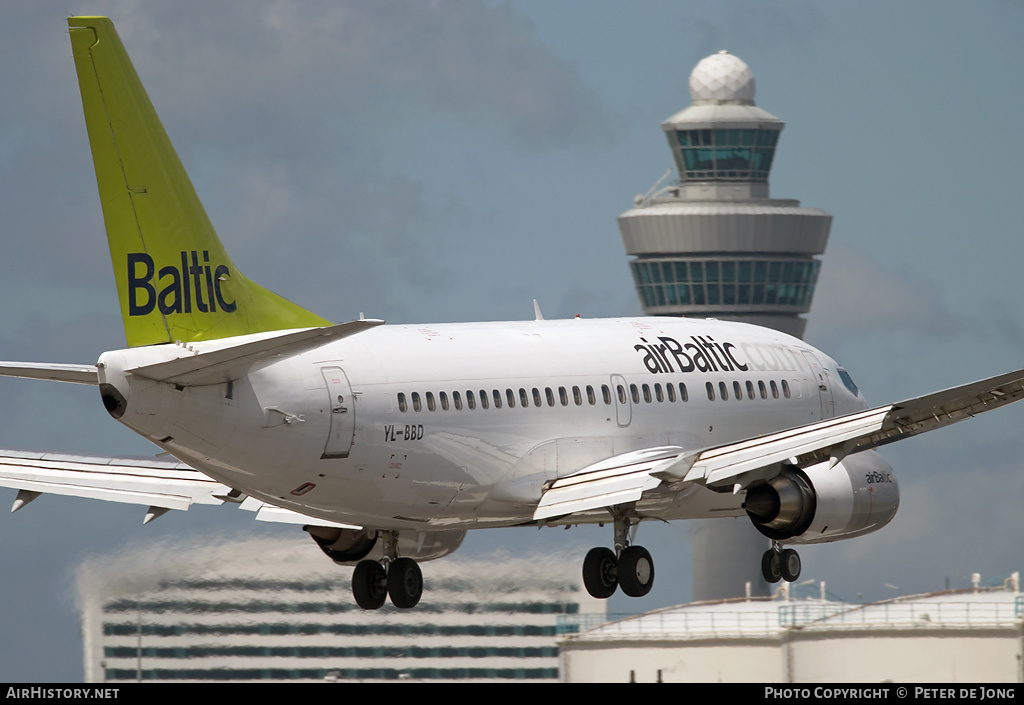 Aircraft Photo of YL-BBD | Boeing 737-53S | AirBaltic | AirHistory.net