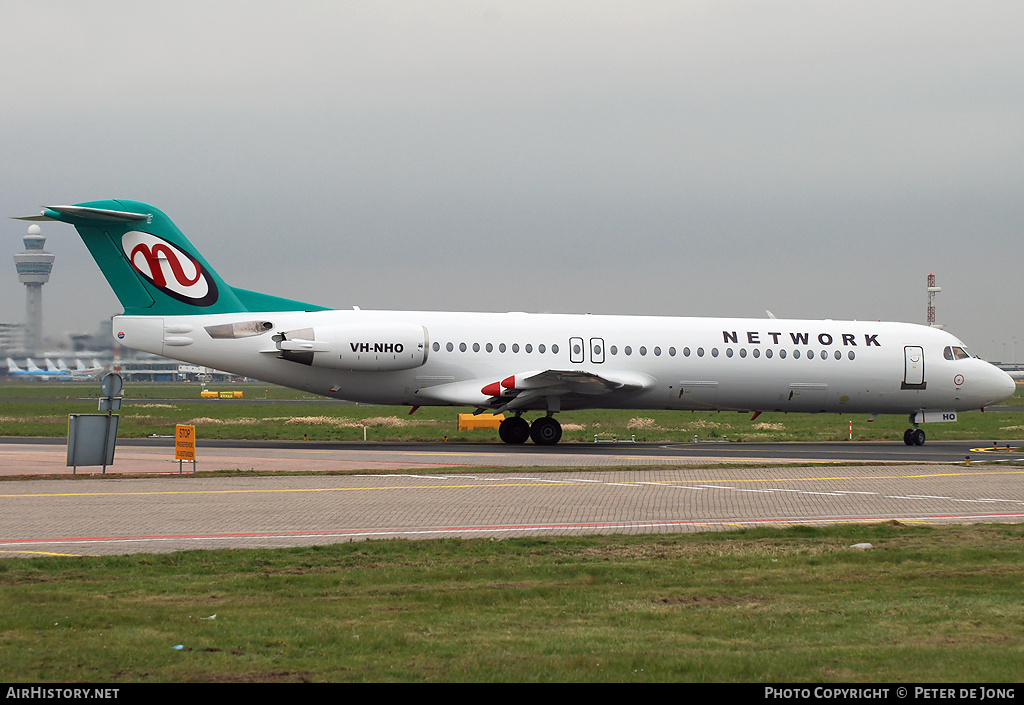 Aircraft Photo of VH-NHO | Fokker 100 (F28-0100) | Network Aviation | AirHistory.net #4143