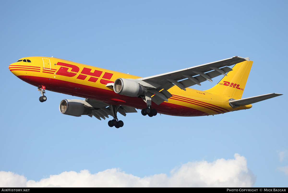 Aircraft Photo of D-AEAF | Airbus A300B4-622R(F) | DHL | AirHistory.net #4150