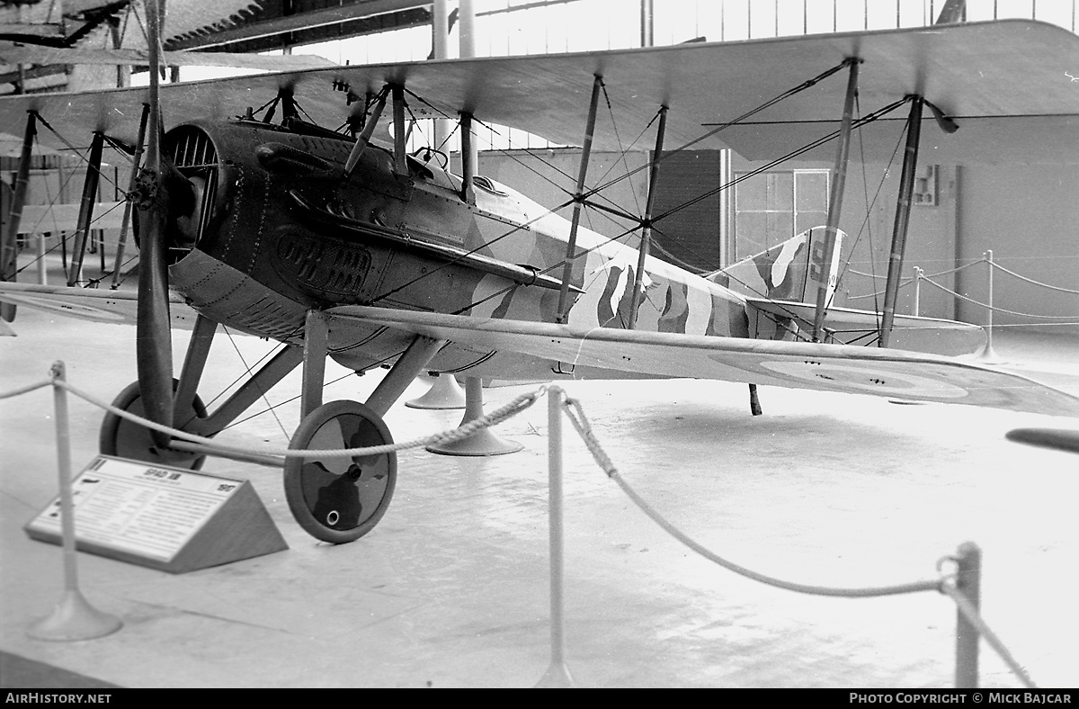 Aircraft Photo of S5295 | SPAD S-XIII C1 | France - Air Force | AirHistory.net #4178