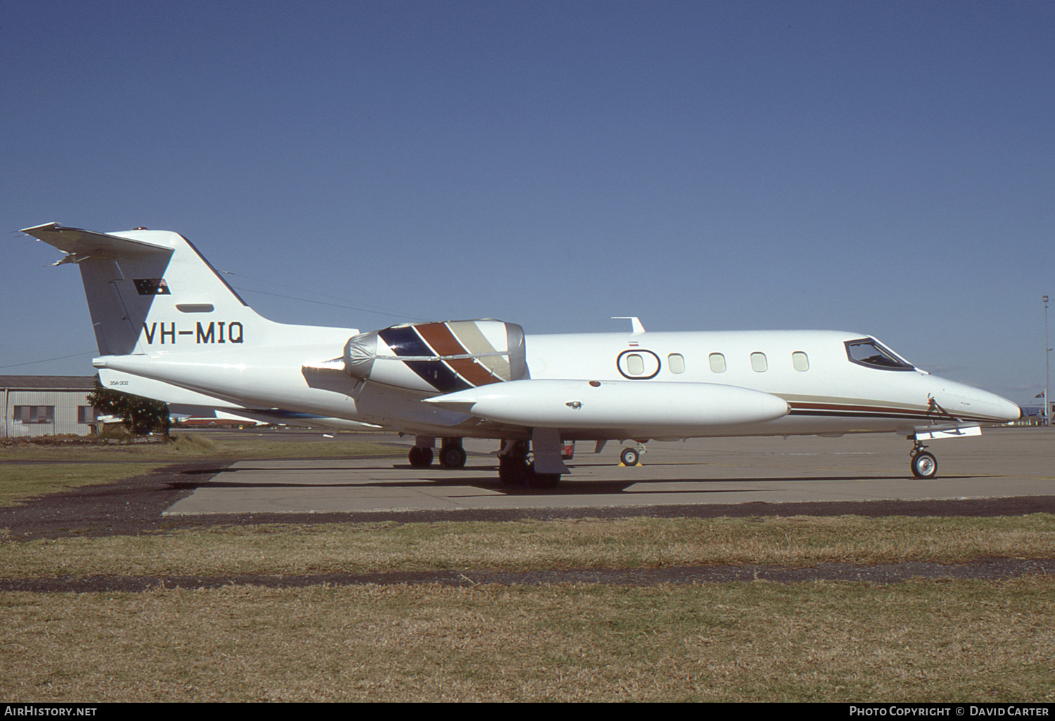 Aircraft Photo of VH-MIQ | Gates Learjet 35A | AirHistory.net #4217