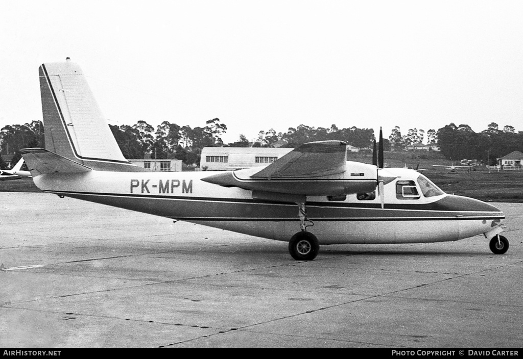 Aircraft Photo of PK-MPM | Aero Commander 500B Commander | AirHistory.net