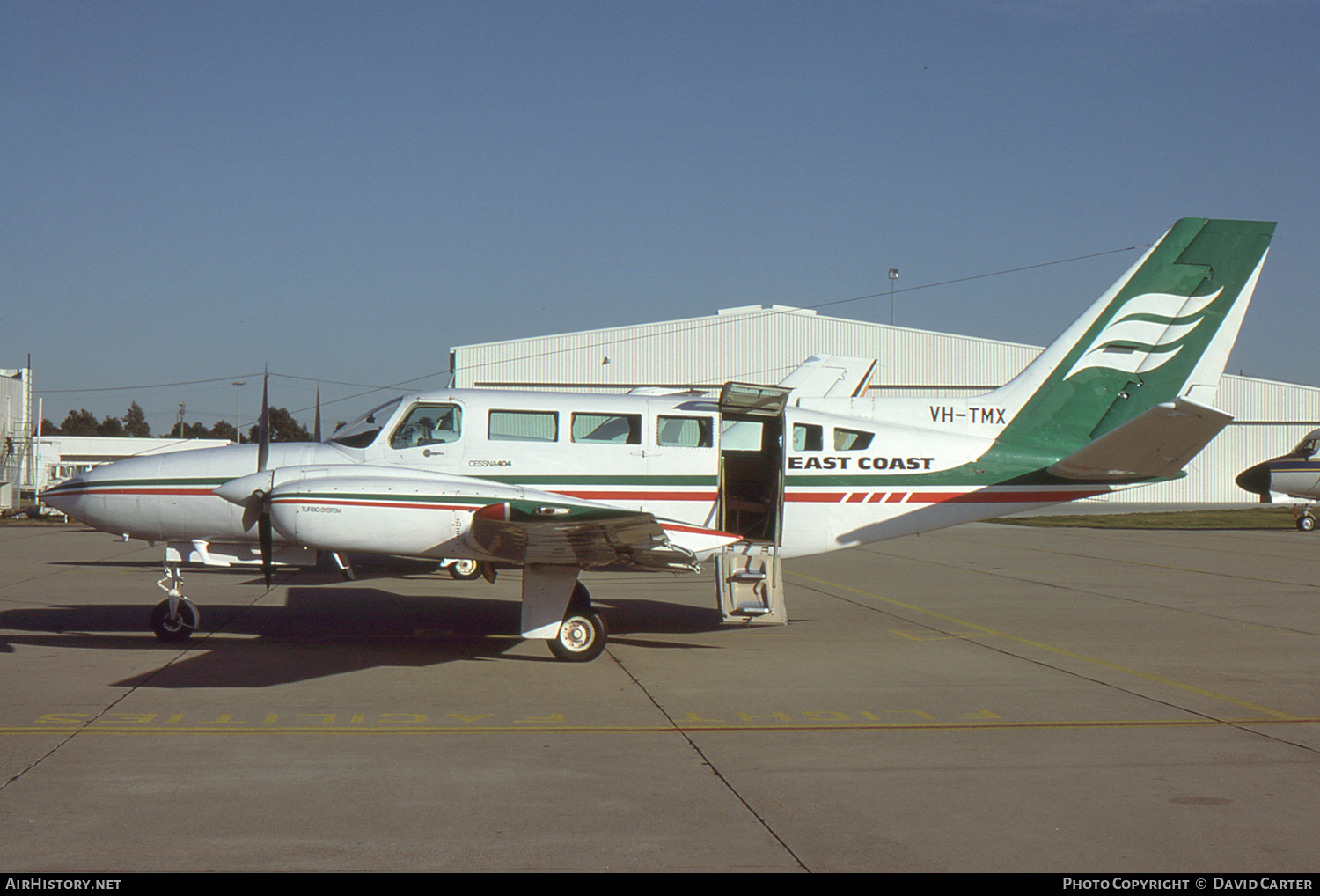Aircraft Photo of VH-TMX | Cessna 404 Titan | East Coast Airlines | AirHistory.net #4225
