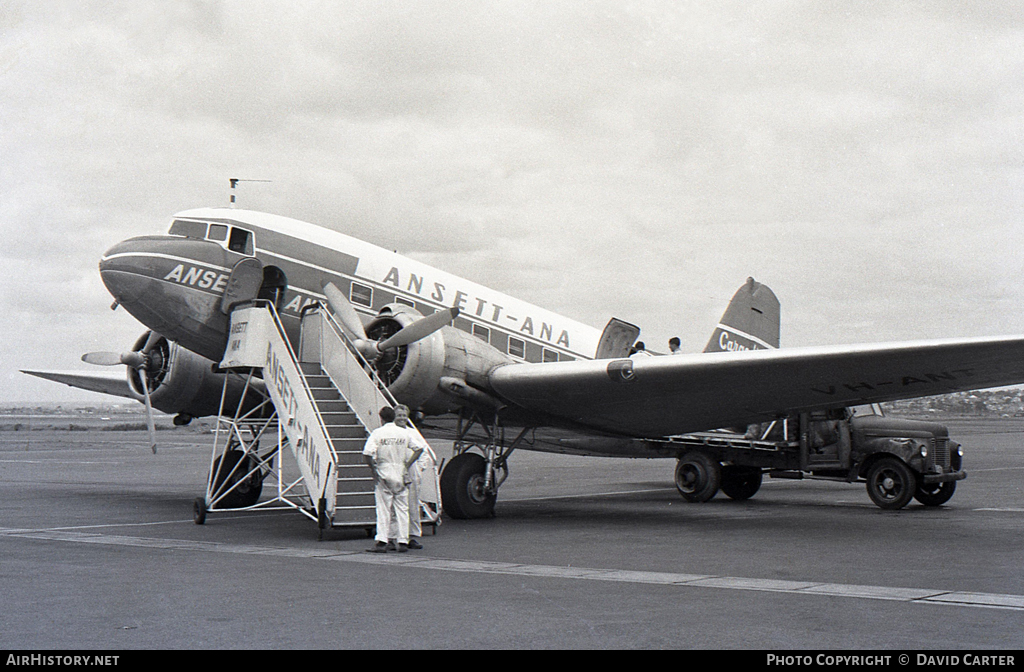 Aircraft Photo of VH-ANT | Douglas DC-3-G202A | Ansett - ANA | AirHistory.net