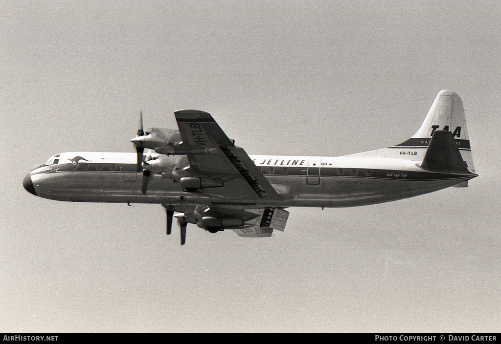 Aircraft Photo of VH-TLB | Lockheed L-188A Electra | Trans-Australia Airlines - TAA | AirHistory.net