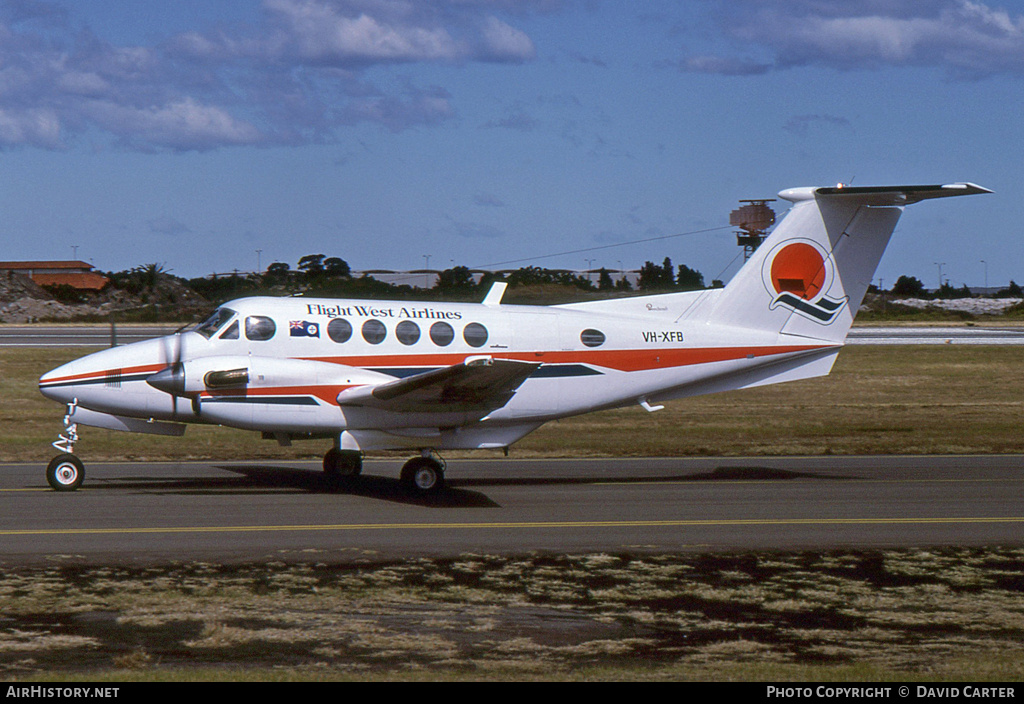 Aircraft Photo of VH-XFB | Beech 200 Super King Air | Flight West Airlines | AirHistory.net #4486