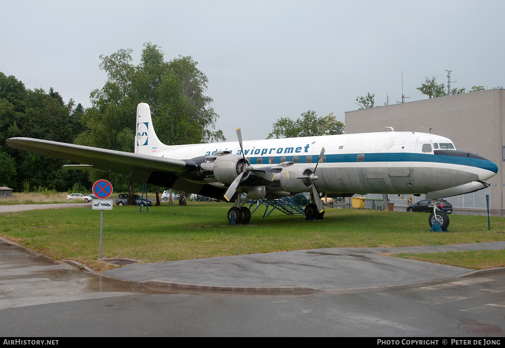Aircraft Photo of YU-AFF | Douglas DC-6B | Adria Airways | AirHistory.net #4515