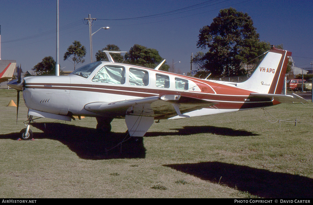 Aircraft Photo of VH-APG | Beech A36 Bonanza 36 | AirHistory.net #4606